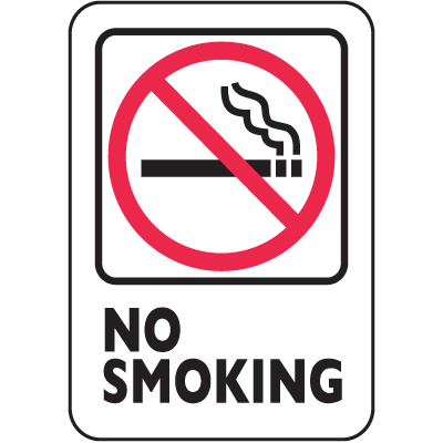 Nevada Smoke-Free Signs- No Smoking
