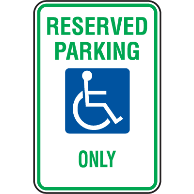 State Specific ADA Handicapped Parking Signs - Michigan