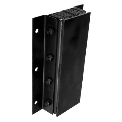 Steel-Faced Vertical Bumpers - 20Hx11W