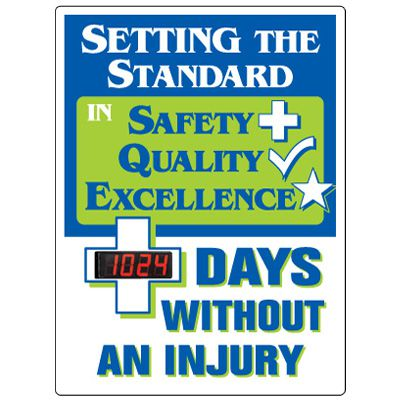 Stock Scoreboards - Days Without Injury