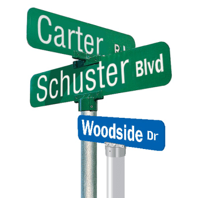 Additional Cap For Street Signs