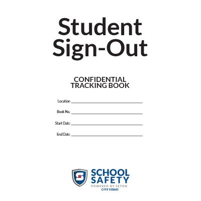 Student Sign Out Book