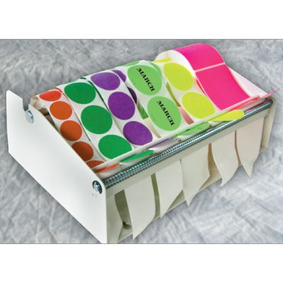 Wall or Table Mount Label Dispenser