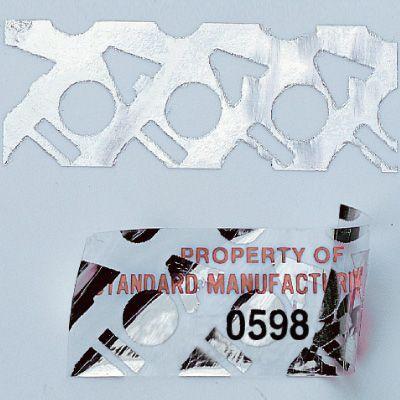Custom Tamper Evident Void Asset Labels