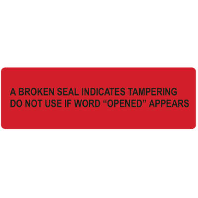 Tamper Evident Drum Seal Labels