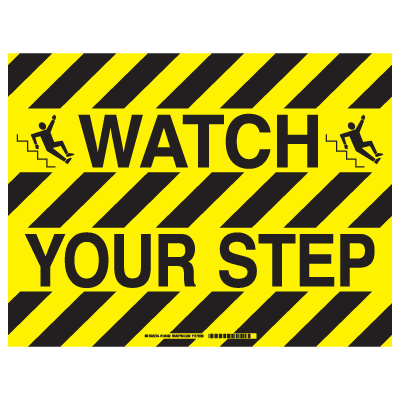 Brady® ToughStripe™ Floor Safety Signs