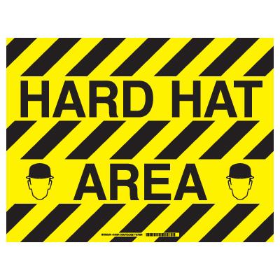 Brady® ToughStripe™ Floor Safety Signs
