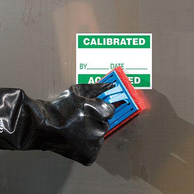 ToughWash® Labels - Calibrated