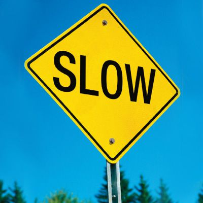 Traffic Signs - Slow