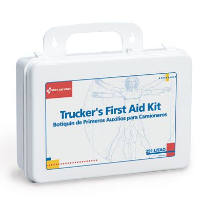First Aid Only Trucker's 16-Unit First Aid Kit 291-U/FAO