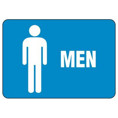 Facility Reminder Signs - Men