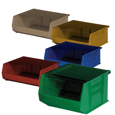 Ultra Stack and Hang Bins 14-3/4L x 16-1/2W x 7H