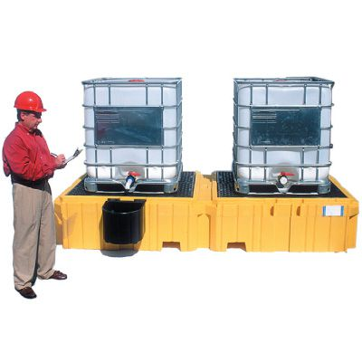 UltraTech Twin IBC SpillPallets