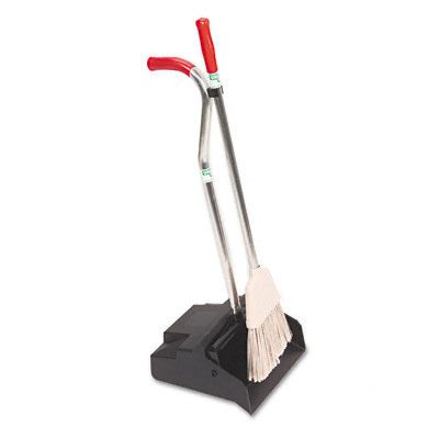Unger® Ergo Dust Pan with Broom UNGEDPBR