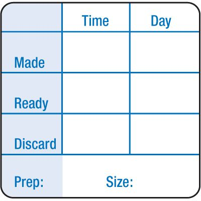 Water-Soluble Labels - Time_Day_Made_Ready_