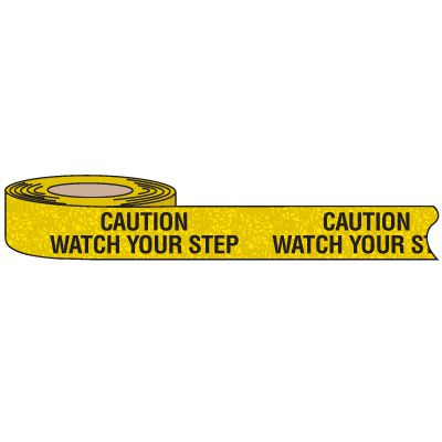Nadco Waterproof Anti-Slip Tape - Caution Watch Your Step ASV-2CWS