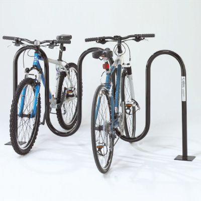 Wave Bicycle Racks - Leg Mount