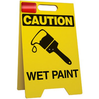 Wet Paint - Floor Stand