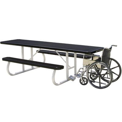 Wheelchair-Friendly Picnic Table