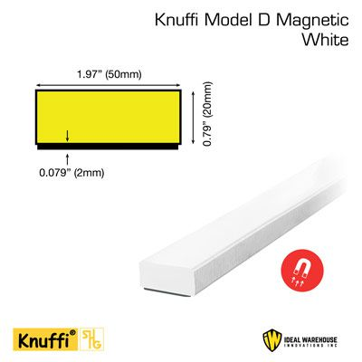 Knuffi® Magnetic Flat Surface Bumper Guards