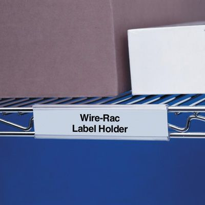 Wire-Rac™ Label Holders