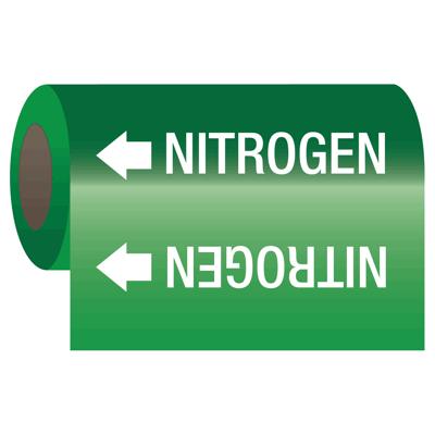 Wrap Around Adhesive Roll Markers - Nitrogen