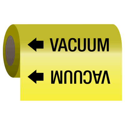 Wrap Around Adhesive Roll Markers - Vacuum