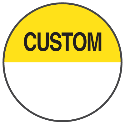 Custom Write-On Inventory Dots