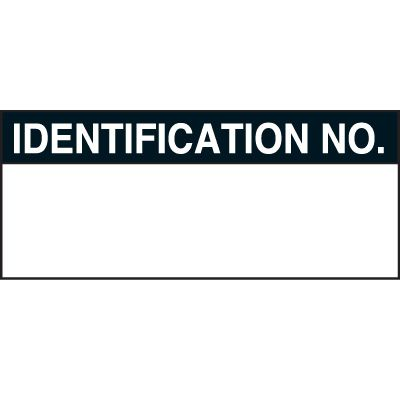 Identification No Status Labels