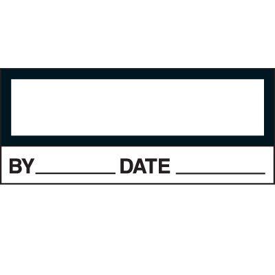 Blank Status Labels