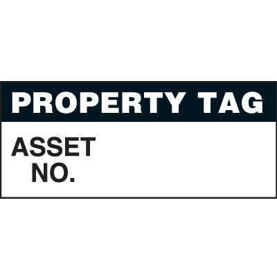 Property Tag Status Label