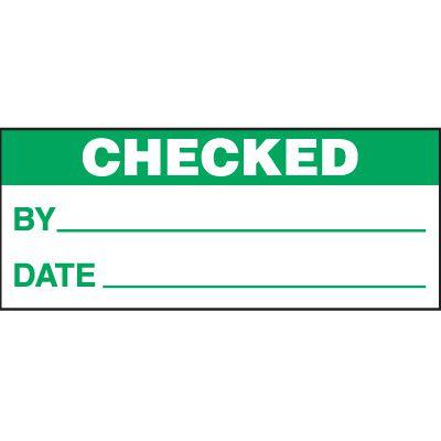 Checked Status Label
