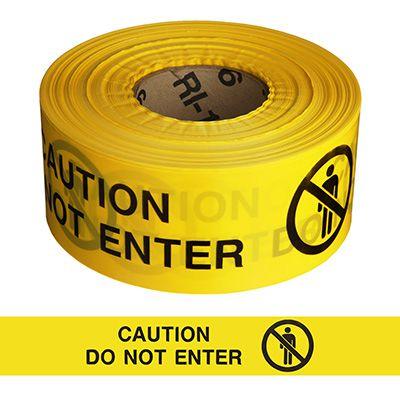 Barricade Tape - Caution Do Not Enter