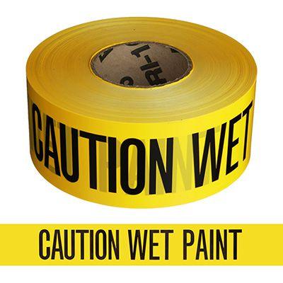 Barricade Tape - Caution Wet Paint