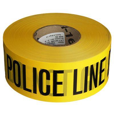 Barricade Tape - Police Line Do Not Cross