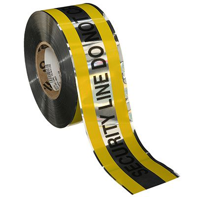 Reflective Barricade Tape - Security Line