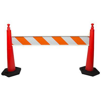 TrafFix Devices Grabber Traffic Cone Barricade Rail 20006-EG