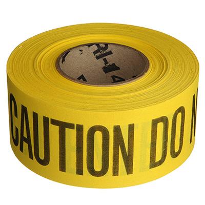 Cloth Barricade Tape - Caution Do Not Enter