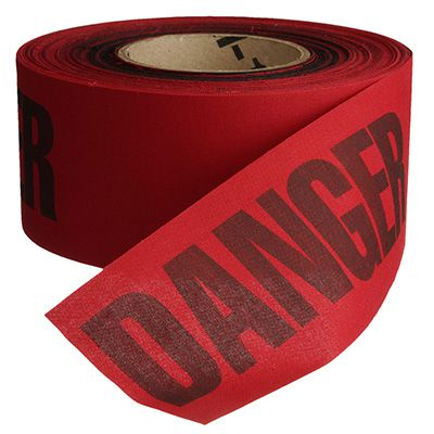 Cloth Barricade Tape - Danger