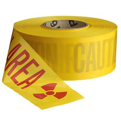 Barricade Tape - Caution Radiation Area