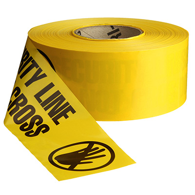Security Line (symbol) Barricade Tape