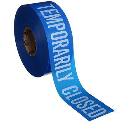Barricade Tape - Temporarily Closed