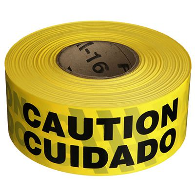 Barricade Tape - Caution/Cuidado