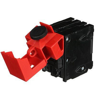 480/600V Red Circuit Breaker Lockout by Brady (65397)