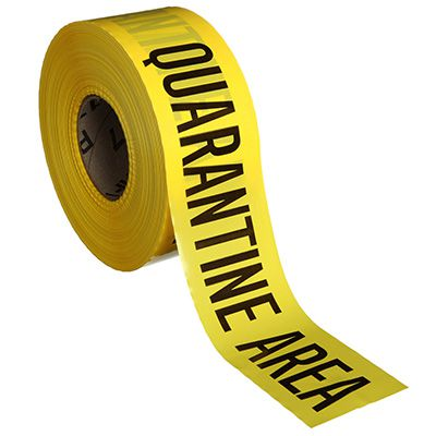 Quarantine Area Barricade Tape