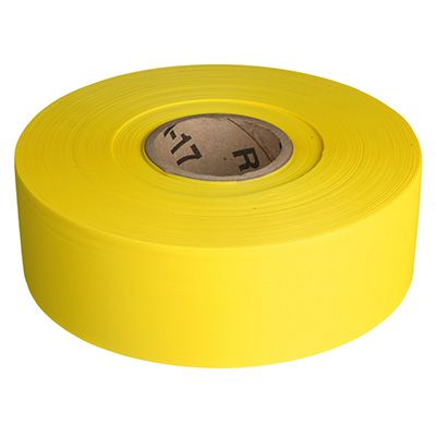Solid Yellow Barricade Tape