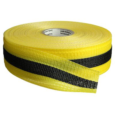 Striped Nylon Barricade Tape