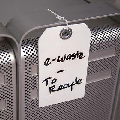 Dry Erase Blank Tag