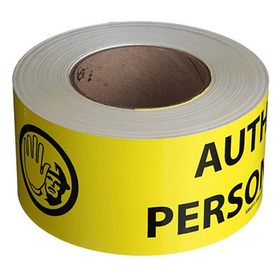 Nadco Authorized Personnel Only Message Tape SAWT11