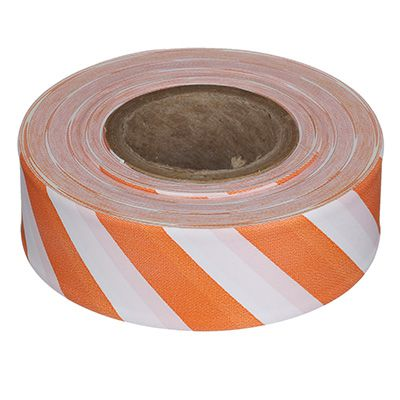 Orange/White Flagging Tape